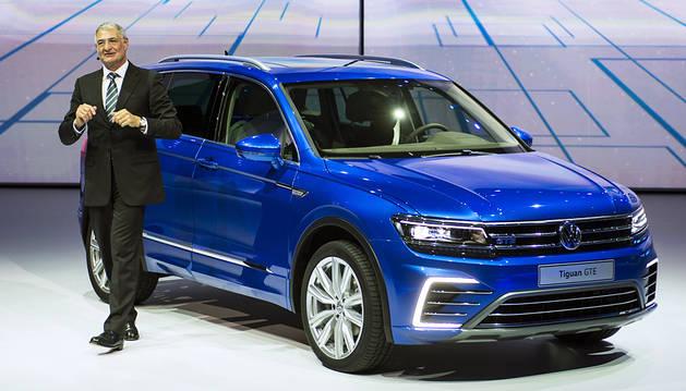Volkswagen presenta en Frankfurt la nueva generación del Tiguan