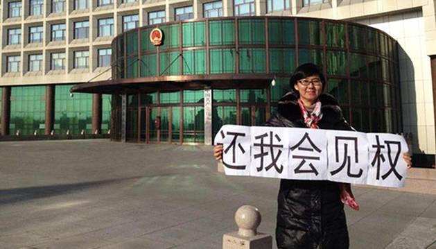 Wang Yu, la abogada china que no le tiene miedo a nada