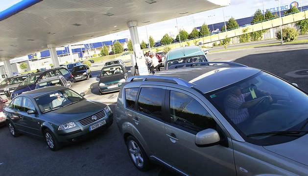 La gasolinera de Leclerc recupera la normalidad