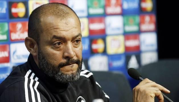 Nuno, técnico del Valencia.