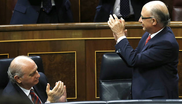 Los Presupuestos pasan al Senado sin aceptar enmiendas de la oposición