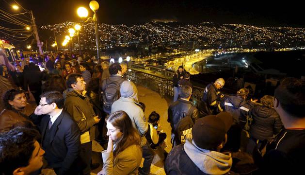 Cinco muertos y un millón de evacuados por un seísmo en Chile