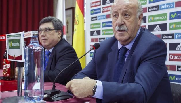 Jacinto Alonso Marañón y Vicente del Bosque.