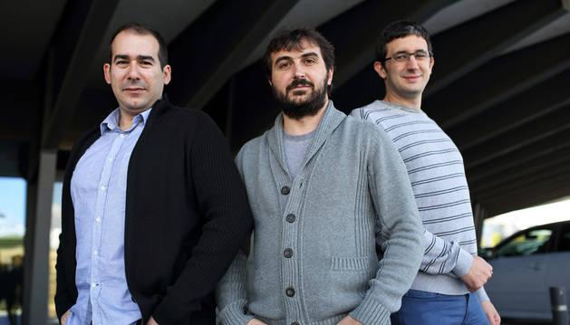 Alfonso Baquero Pérez, Santiago Led Ramos y Miguel Martínez de Espronceda Cámara.