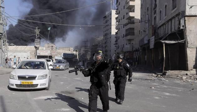 Israel ataca Gaza tras el lanzamiento de cohetes desde suelo palestino