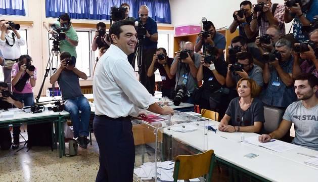 Grecia vuelve a las urnas por tercera vez en menos de un año