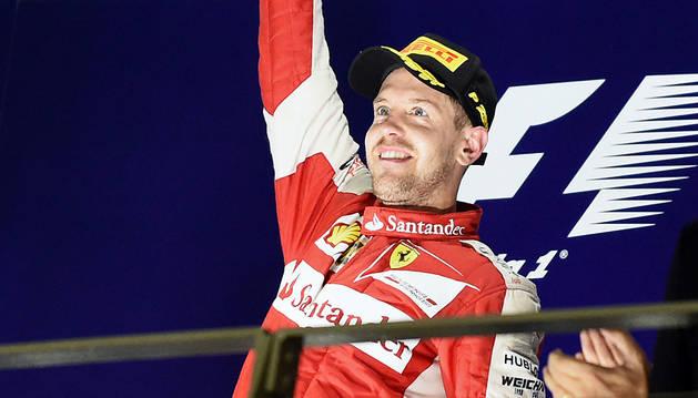 Vettel, ganador en el GP de Singapur.