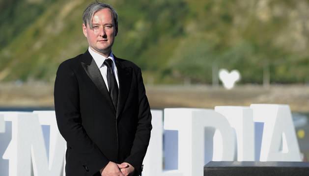 El director Rúnar Rúnarsson en el Zinemaldia.