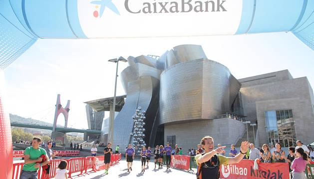 Llegada de la primera edición de este reto deportivo en Bilbao.