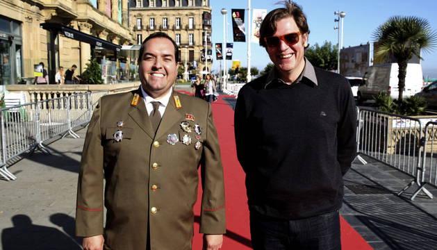 Álvaro Longoria presenta 'The Propaganda Game' junto a Alejandro Cao de Benós.