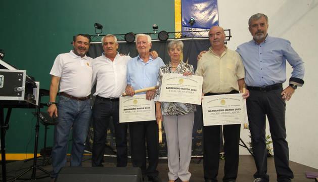 Entrega de galadornes 'Bardenero Mayor 2015'.