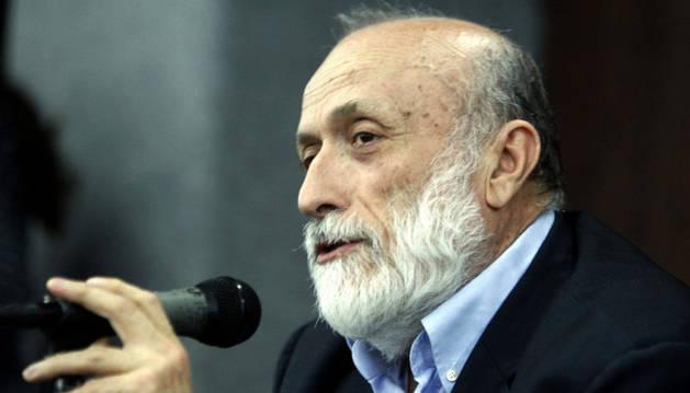 El creador del movimiento Slow Food, Carlo Petrini.