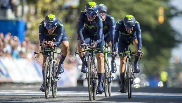 El Movistar, en Richmond.