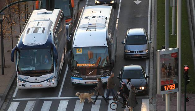 El Gobierno introduce las ayudas al transporte para alumnos de euskera