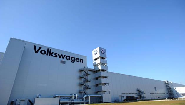 Fábrica de Volkswagen en Chattanooga (Estados Unidos).