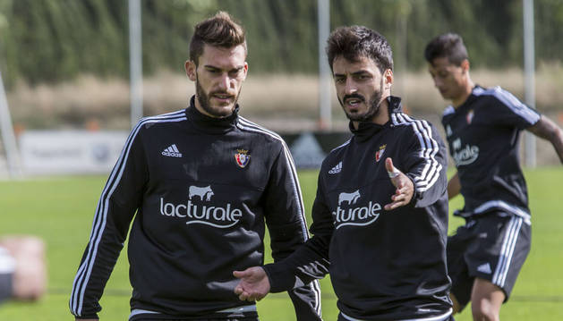Torres, junto a Martins.