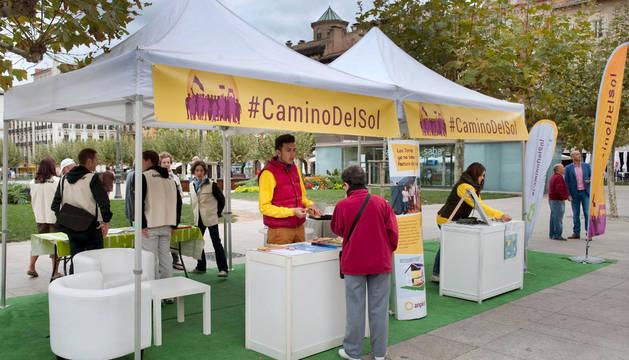 Exposición itinerante de la iniciativa 'Camino del Sol'.