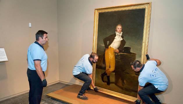 El Retrato del marqués de San Adrián rumbo a la National Gallery