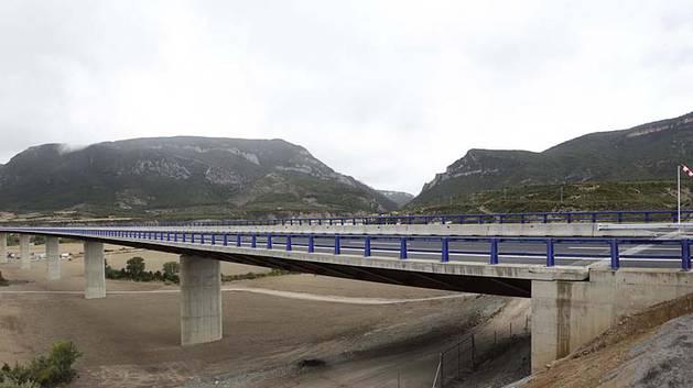 El Estado se compromete a que toda la Autovía a Jaca esté en obras en 2016