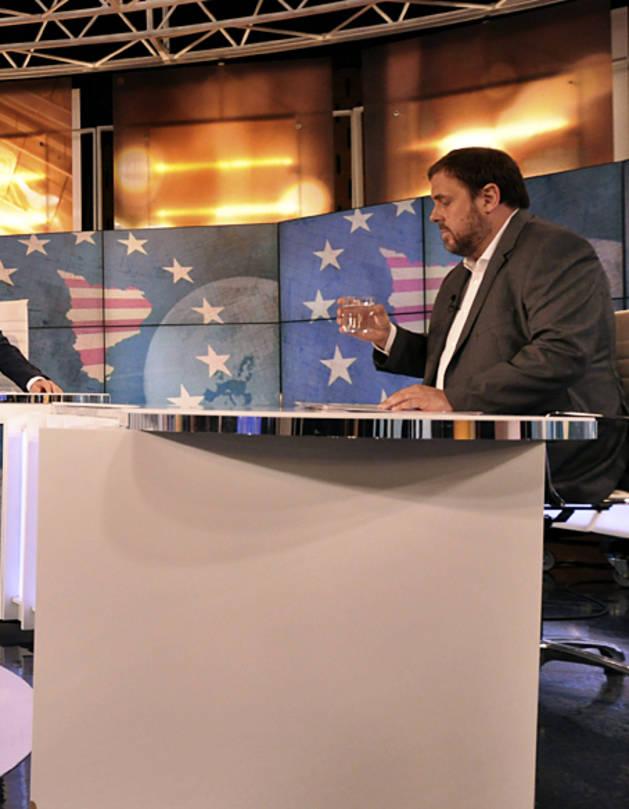 Junqueras pide irónicamente a Margallo negociar la secesión
