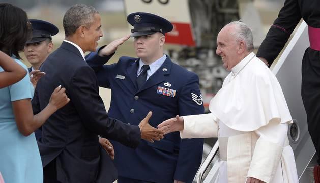 El Papa Francisco inicia una histórica visita de cinco días a Estados Unidos