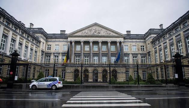 Desalojado el Parlamento belga por una amenaza de bomba
