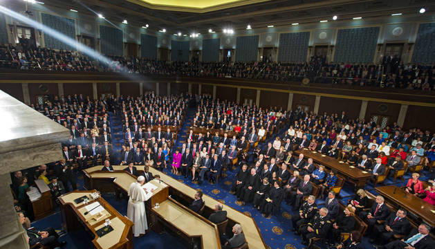 El Papa, al Congreso de EE UU:
