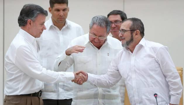 Colombia y las FARC acuerdan la cuenta atrás para firmar la paz