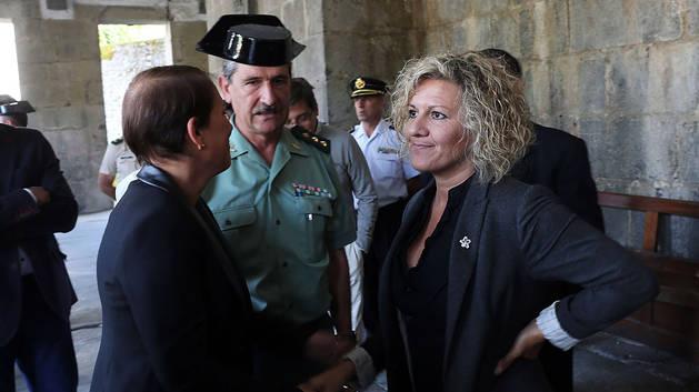 "La viuda del cabo Beiro acusa a Barkos de ""cinismo"" por acudir a su homenaje"