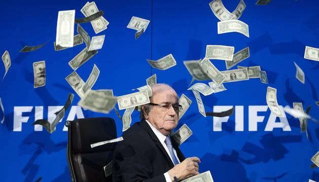 Joseph Blatter.