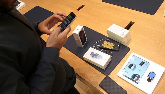 Primer día de venta del iPhone 6S