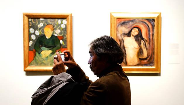 Exposición 'Munch : Van Gogh' en Amsterdam