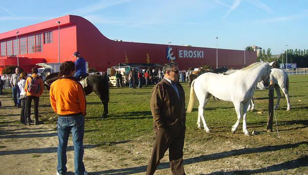 La feria de ganado equino regresa al polígono de los Agustinos