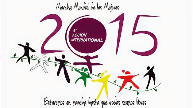 Pamplona se suma a la Marcha Mundial de las Mujeres