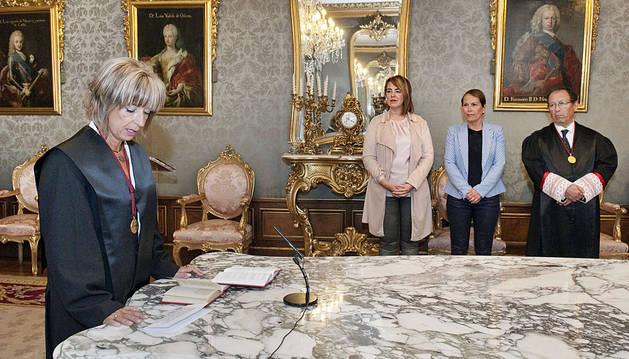 Socorro Sotés toma posesión como miembro del Consejo de Navarra