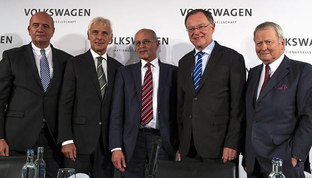 Los nuevos nombramientos del grupo Volkswagen.
