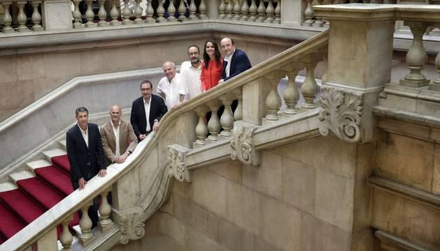 Los candidatos de las elecciones catalanas.