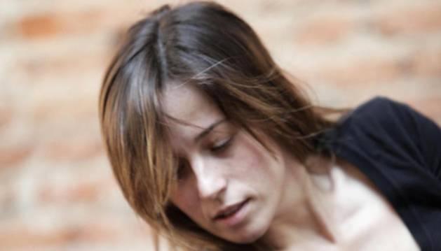 Marta Etura, durante el ensayo de una anterior.