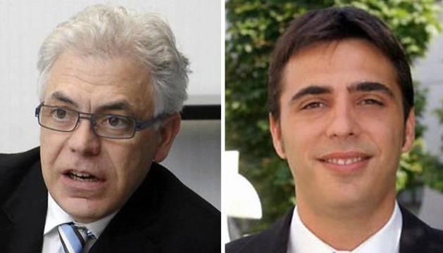 Jesús M.Fernández (izda.) y Toni Magdaleno.