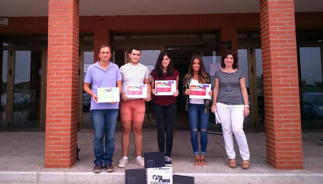 Tres alumnos riberos, premiados en un campeonato de modelado
