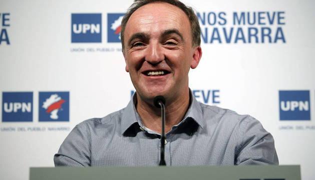 JAVIER ESPARZA, NUEVO PRESIDENTE DE UPN EN SUSTITUCIÓN DE BARCINA