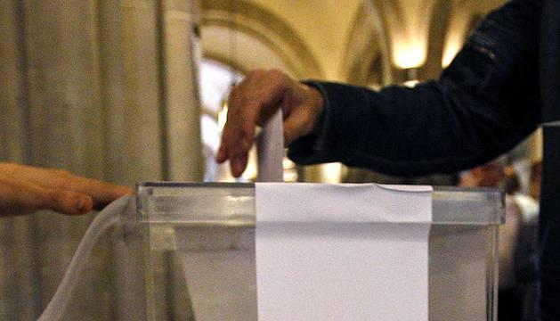 Jornada electoral en Cataluña.