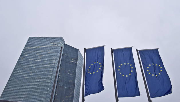 Vista de la sede del Banco Central Europeo.