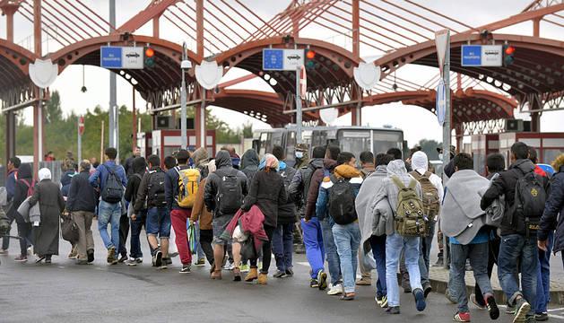 Unos 8.500 refugiados entran en Croacia en su camino hacia Europa