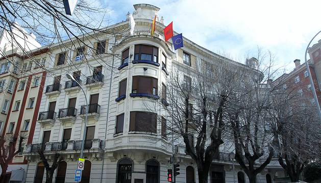 La sede de UPN en Pamplona.