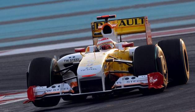 Fernando Alonso, con Renault en 2009.