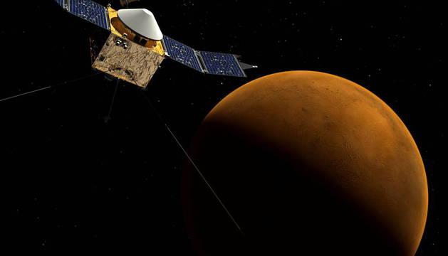 LA NASA CONFIRMA QUE HAY AGUA LIQUIDA EN MARTE