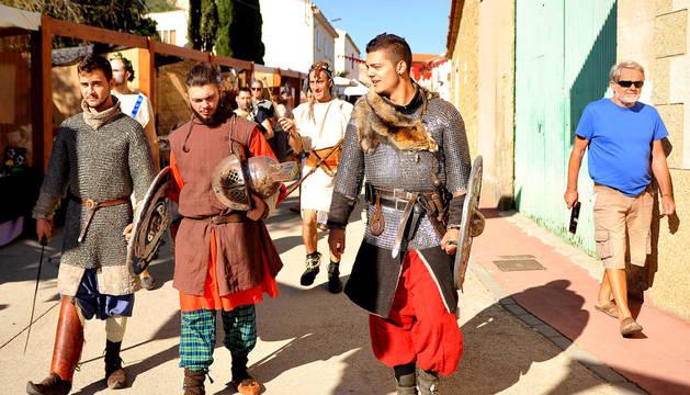 Santacara revive un año más sus raíces romanas