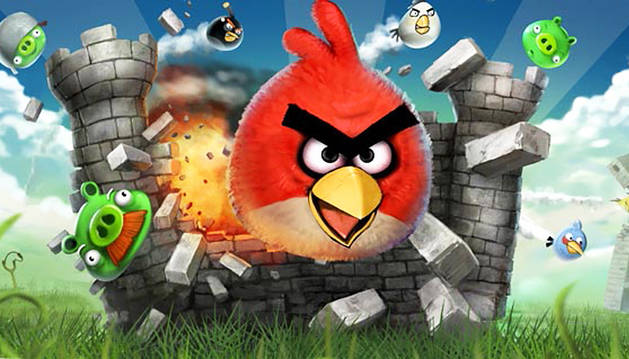 Los populares Angry Birds.
