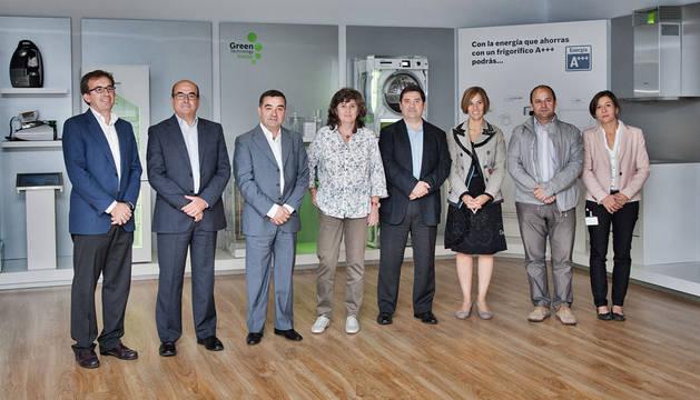 Eladio Llorente, Ramón Villacampa, José Juste, Eva García, Andrés Sola, Itziar Uranga, Enrique Eraso y Laura Garbajosa.